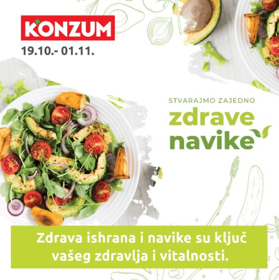 Konzum Katalog Zdrava Ishrana19.10. - 01.11.