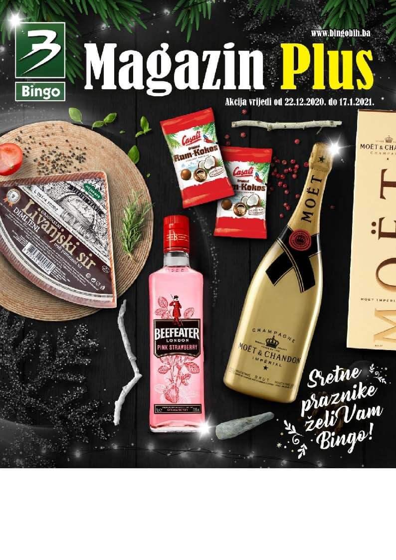 BINGO Katalog Magazin plus 22.12.2020. 17.01.2021. Page 01