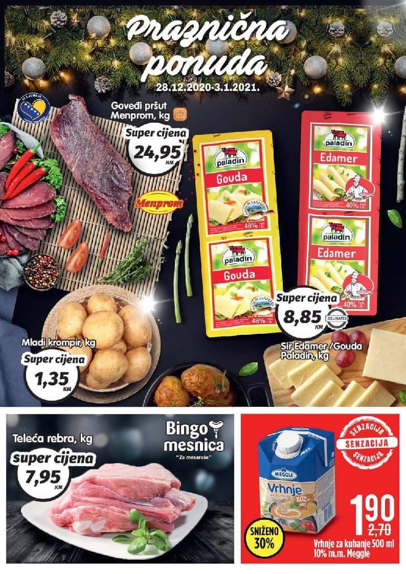 BINGO Katalog Praznicna ponuda 28.12.2020. 03.01.2021. Page 1
