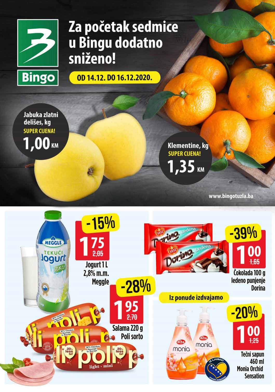 Bingo Katalog Za pocetak sedmice 14.12.2020. 16.12.2020. Page 1
