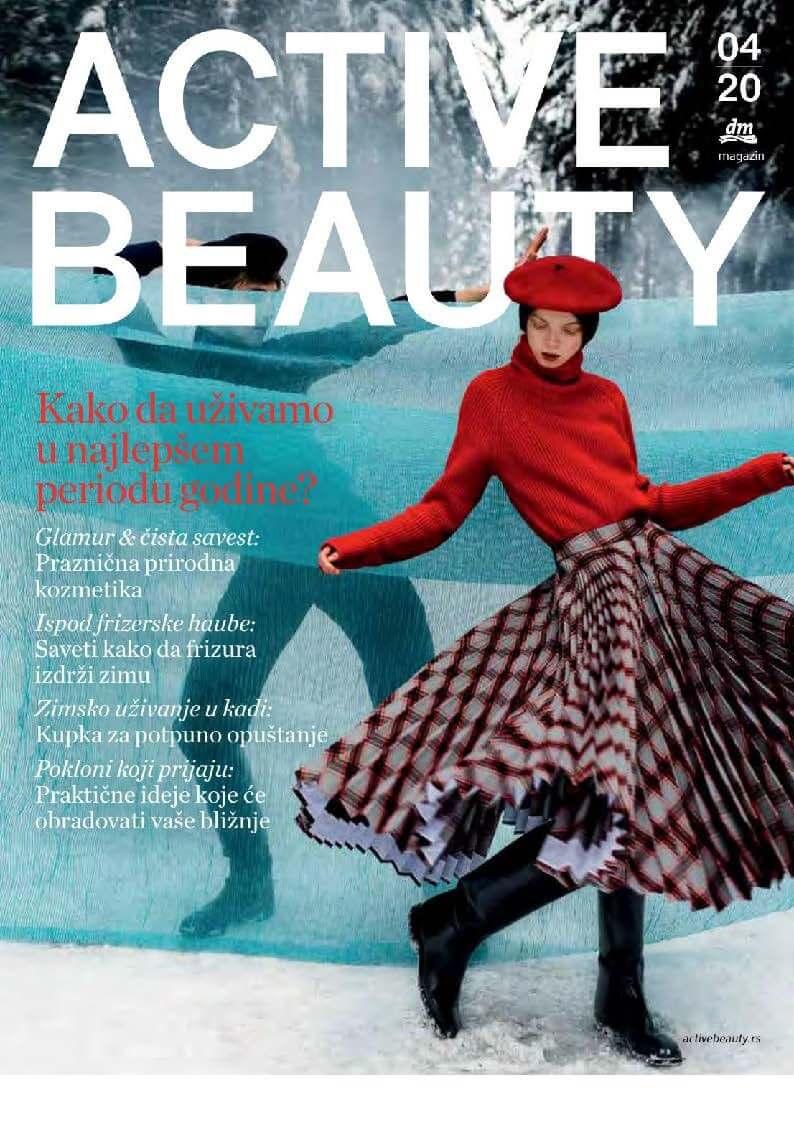 DM Katalog Active Beauty 04 20 Srbija Page 01