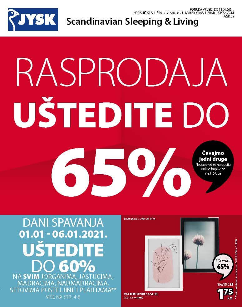 JYSK Katalog Januar 2021 ponuda vrijedi do 13.01.2021. Page 02