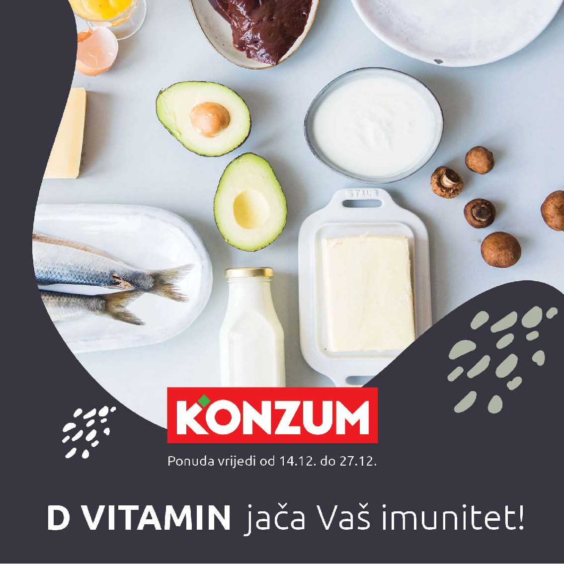 KONZUM Katalog D VITAMIN jača vaš imunitet I 14.12.2020. 27.12.2020. Page 01