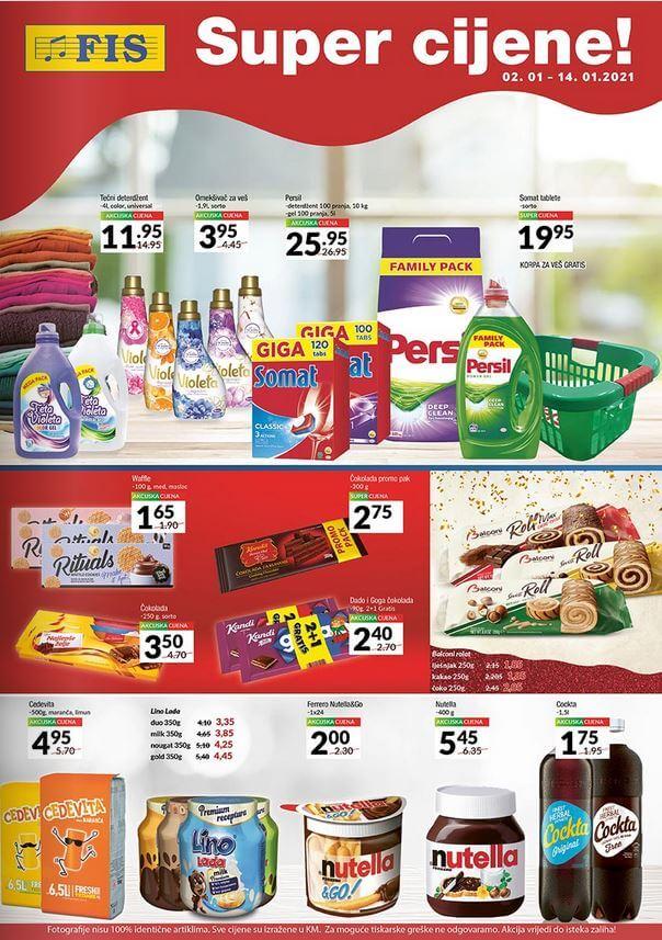 FIS Katalog Prehrana i Hemija Januar 2021 01.01.2021. 14.01.2021 1