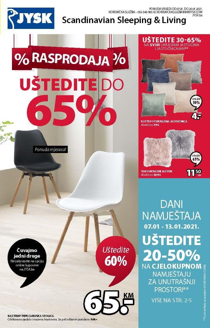 JYSK Katalog JANUAR 2021 07.01.2021. 20.01.2021. Page 02
