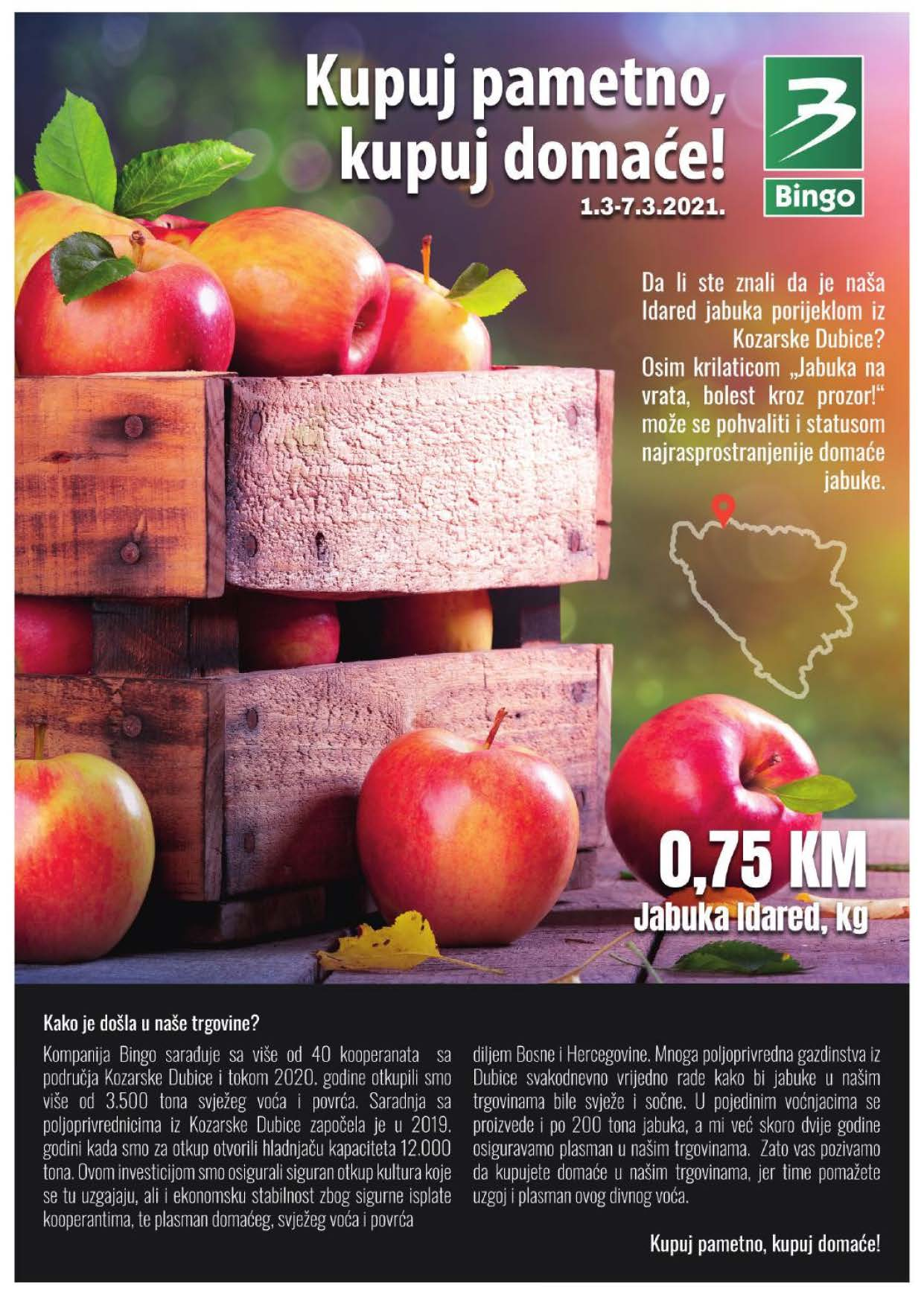 BINGO Katalog Kupuj domace MART 2021 01.03.2021. 07.01.2021. Page 1