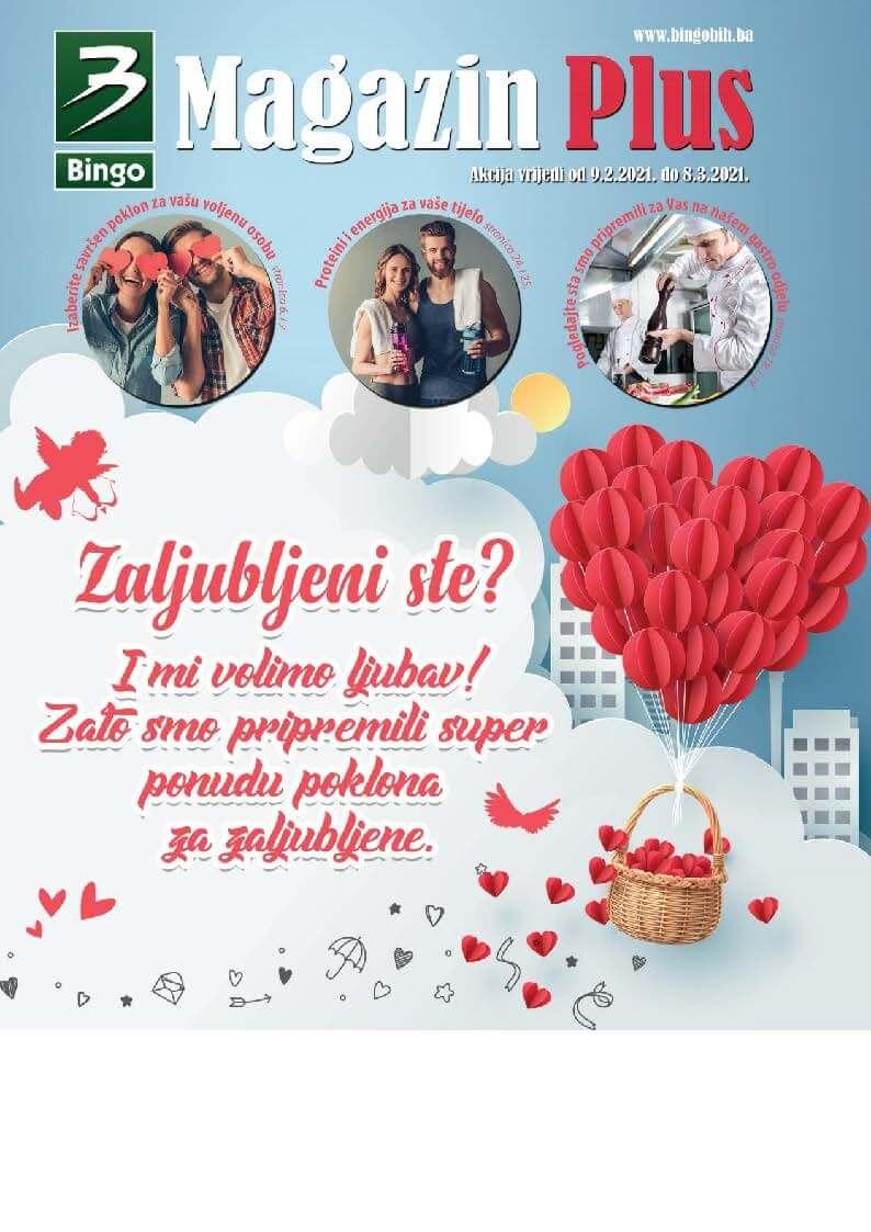BINGO Katalog Magazin plus FABRUAR 2021 09.02.2021. 08.03.2021. Page 01