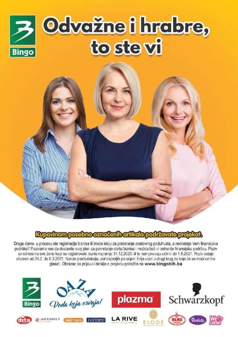 BINGO Katalog Odvazne i hrabre Februar i Mart 2021 24.02.2021. 08.03.2021. Page 1