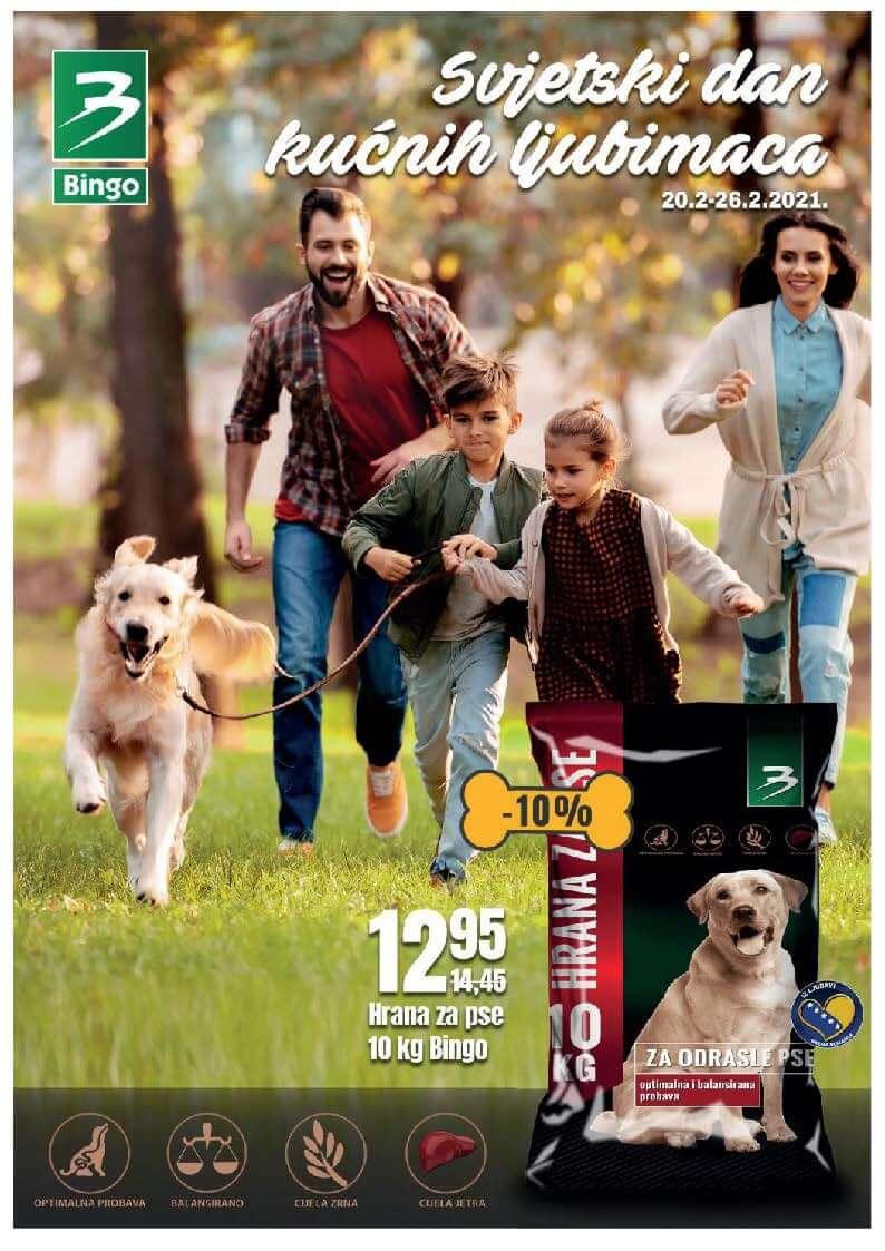 BINGO Katalog Svijet kucnih ljubimaca FEBRUAR 2021 20.02.2021. 26.02.2021. Page 1