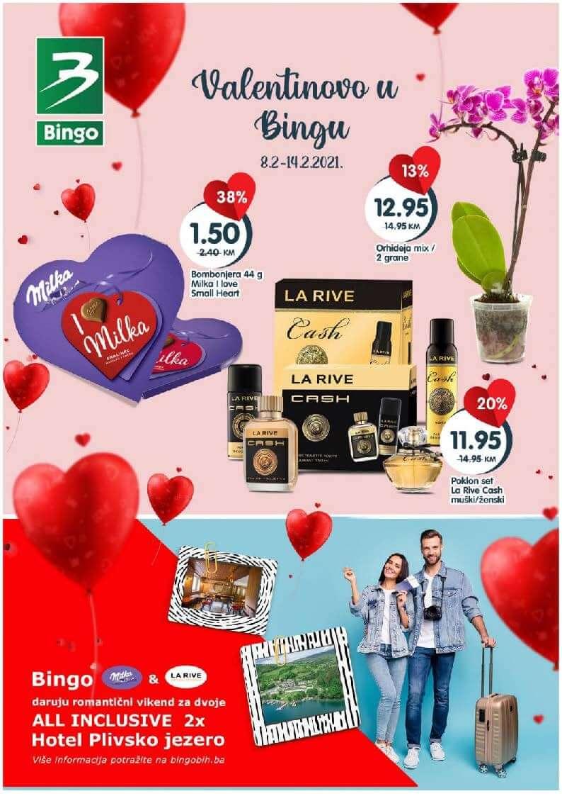 BINGO Katalog Valentino u Bingu FEBRUAR 2021 08.02.2021. 14.02.2021. Page 1