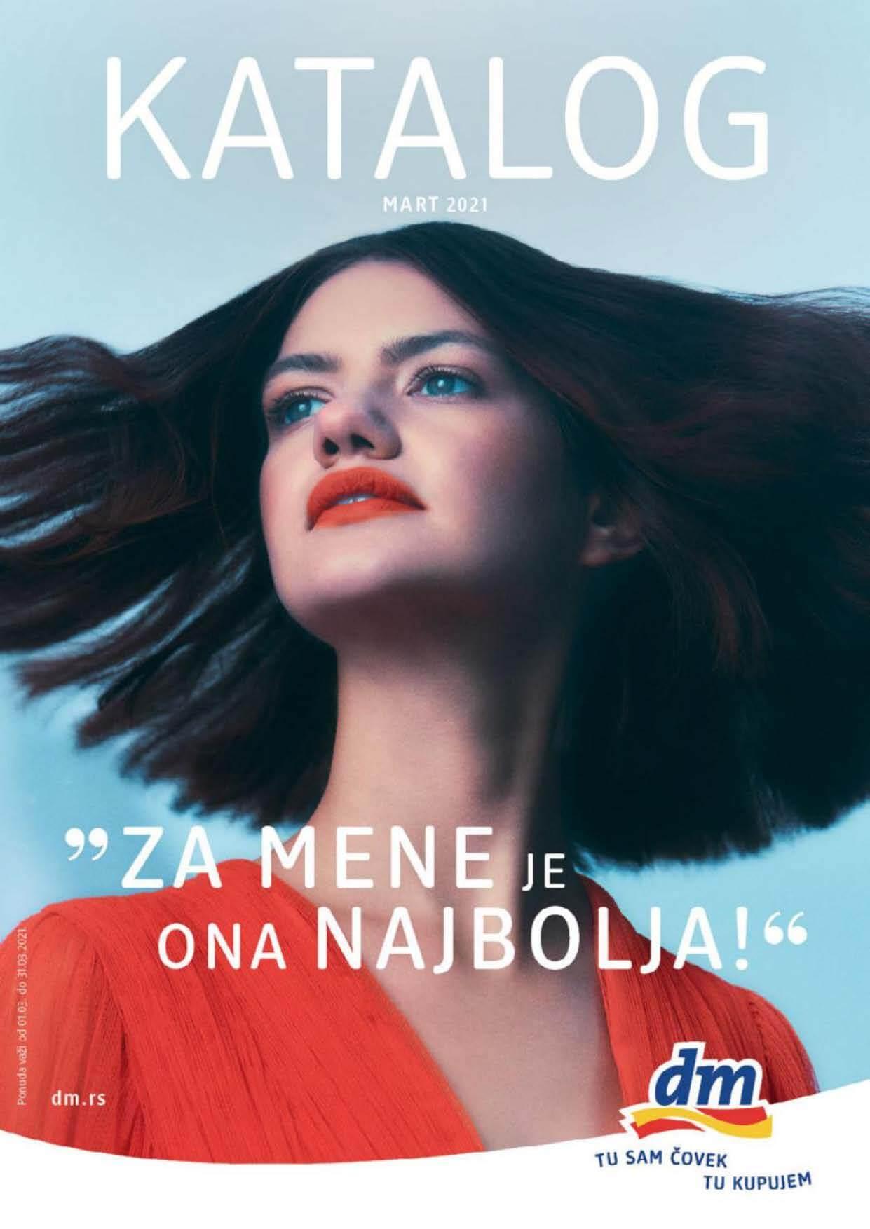 DM Katalog MART 2021 Srbija Page 01