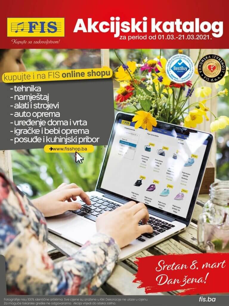 FIS Katalog Akcija Mart 2021 01.03.2021. 21.03.2021. Page 01