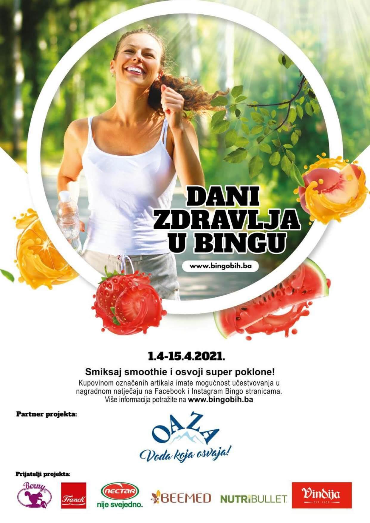BINGO Katalog Dani zdravlja u Bingu APRIL 2021 01.04.2021. 15.04.2021. Page 01