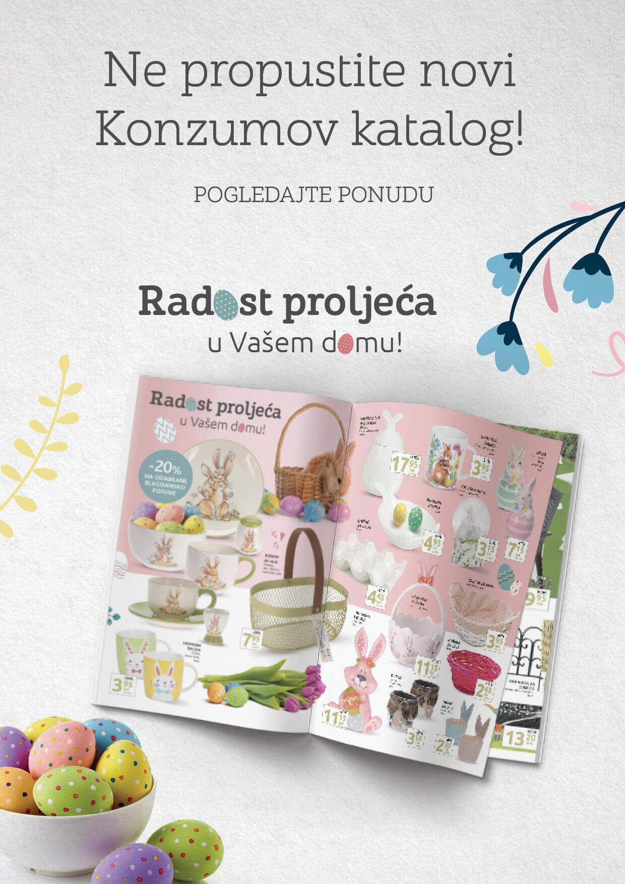 KONZUM Katalog Redovni katalog April 2021 29.03.2021. 08.04.2021. Page 27