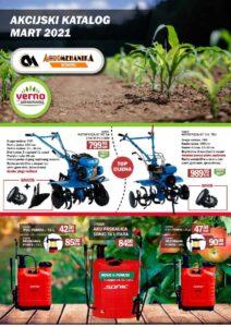 VERNO AGROMEHANIKA Akcijski katalog MART 2021 Page 01