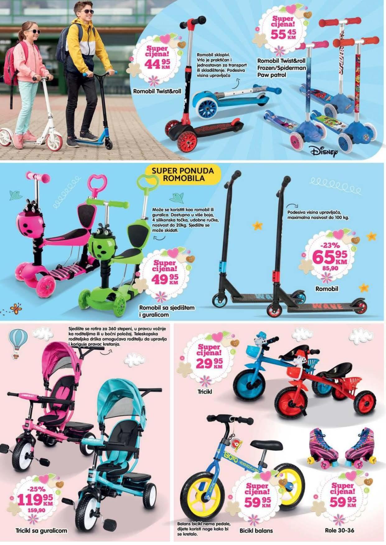 BINGO Katalog Sve za proljetnu zabavu i rekreaciju April i MAJ 2021 16.04. 14.05.2021. Page 02