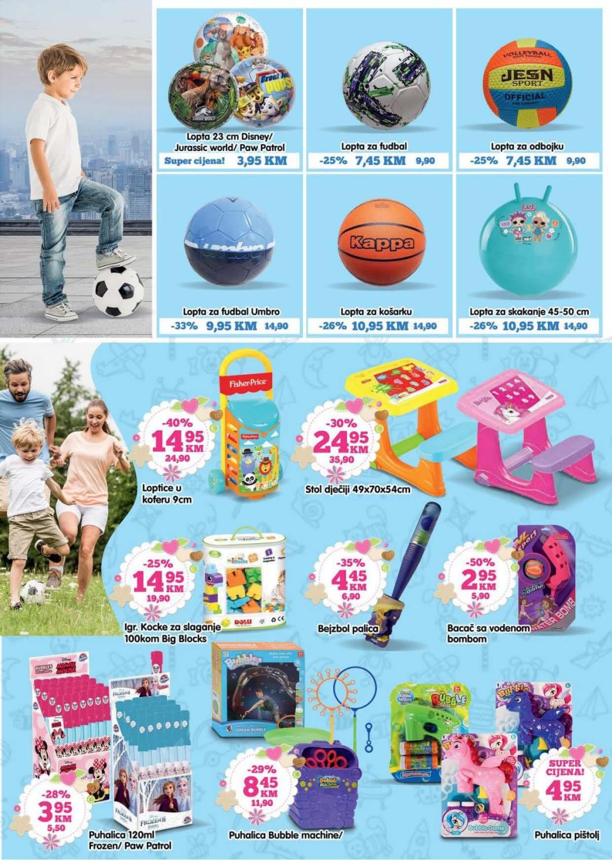 BINGO Katalog Sve za proljetnu zabavu i rekreaciju April i MAJ 2021 16.04. 14.05.2021. Page 07