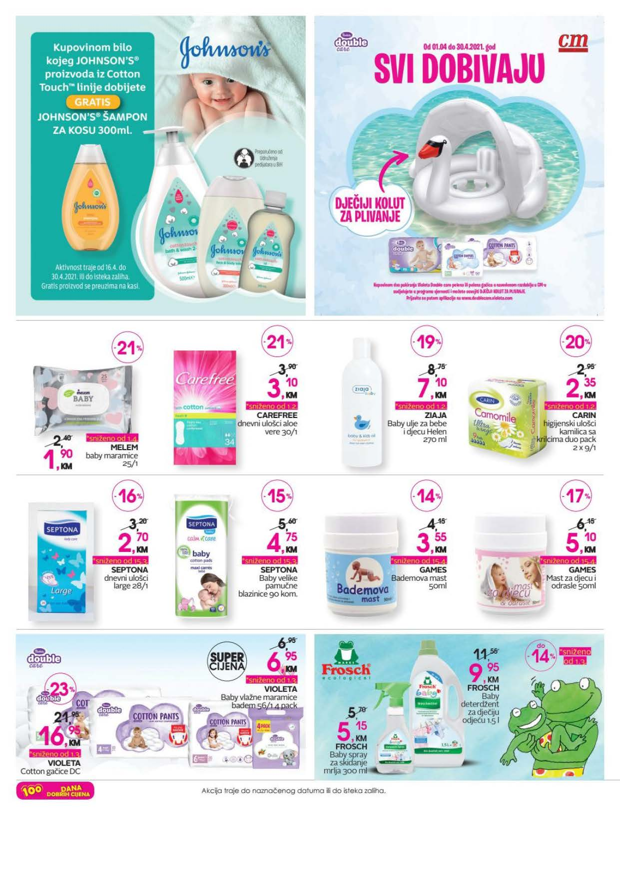 COSMETIC MARKET CM Katalog APRIL 2021 16.04.2021. 30.04.2021. Page 14