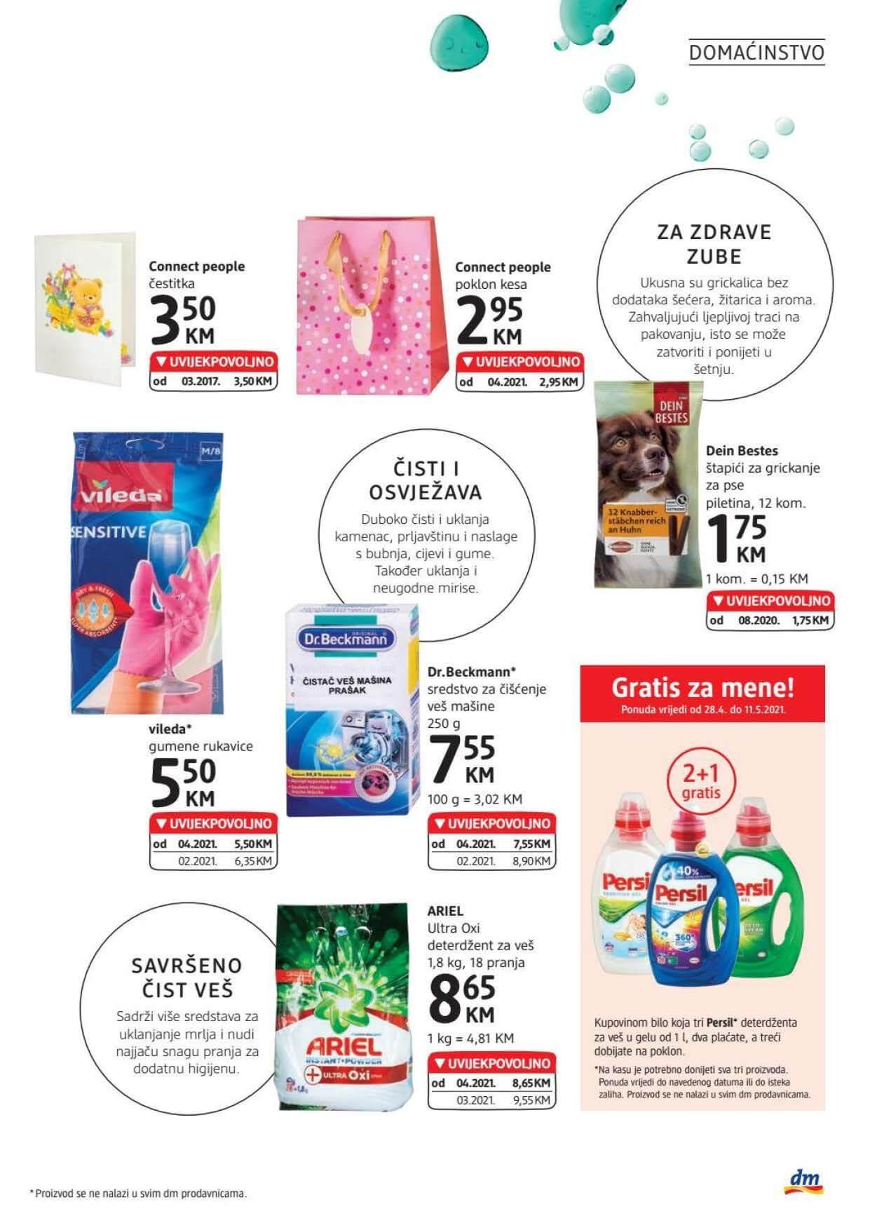 DM Katalog BiH APRIL MAJ 2021 28.04.2021. 11.05.2021. Page 21