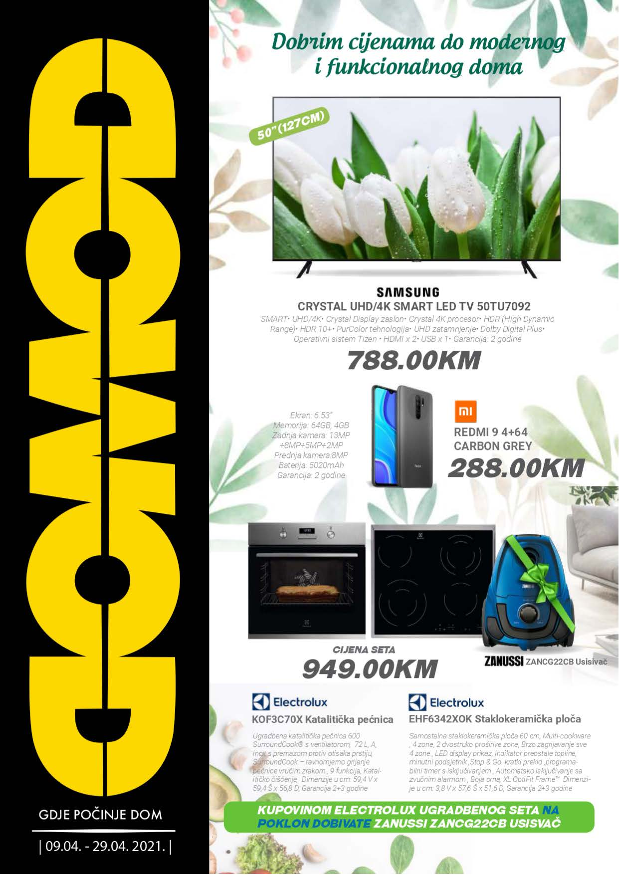 DOMOD Katalog Akcija APRIL 2021 09.04.2021. 29.04.2021. Page 1