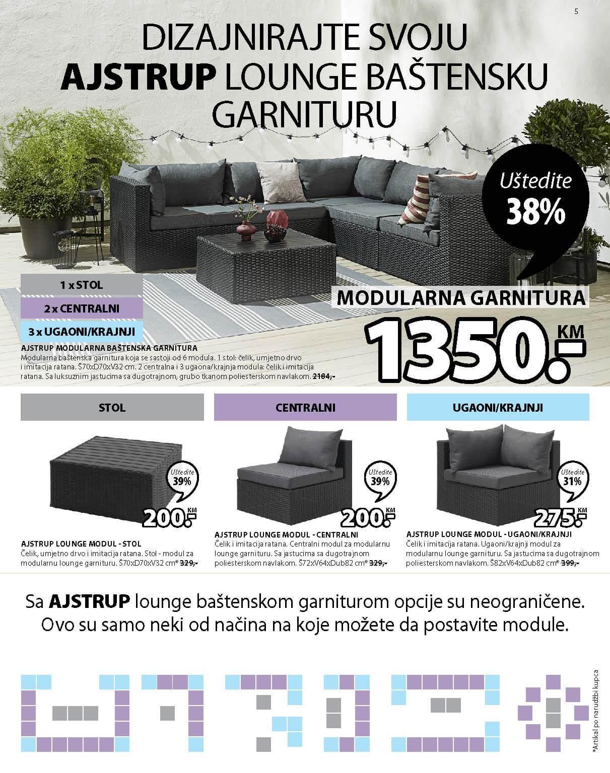 JYSK Katalog AKCIJA Super dani APRIL 2021 22.04.2021. 28.04.2021. Page 06