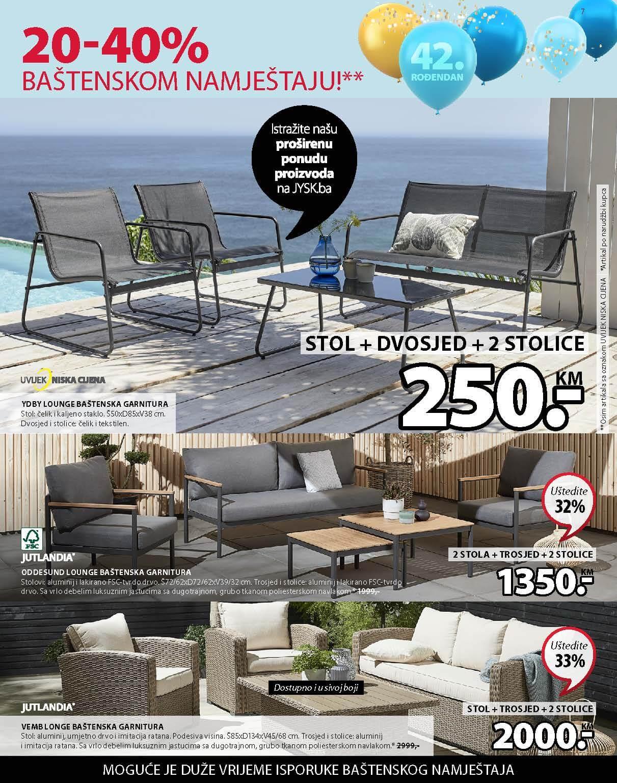 JYSK Katalog AKCIJA Super dani APRIL 2021 22.04.2021. 28.04.2021. Page 08