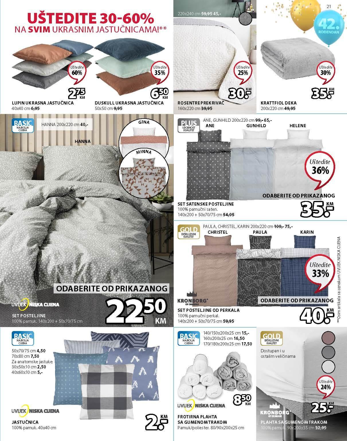 JYSK Katalog AKCIJA Super dani APRIL 2021 22.04.2021. 28.04.2021. Page 22