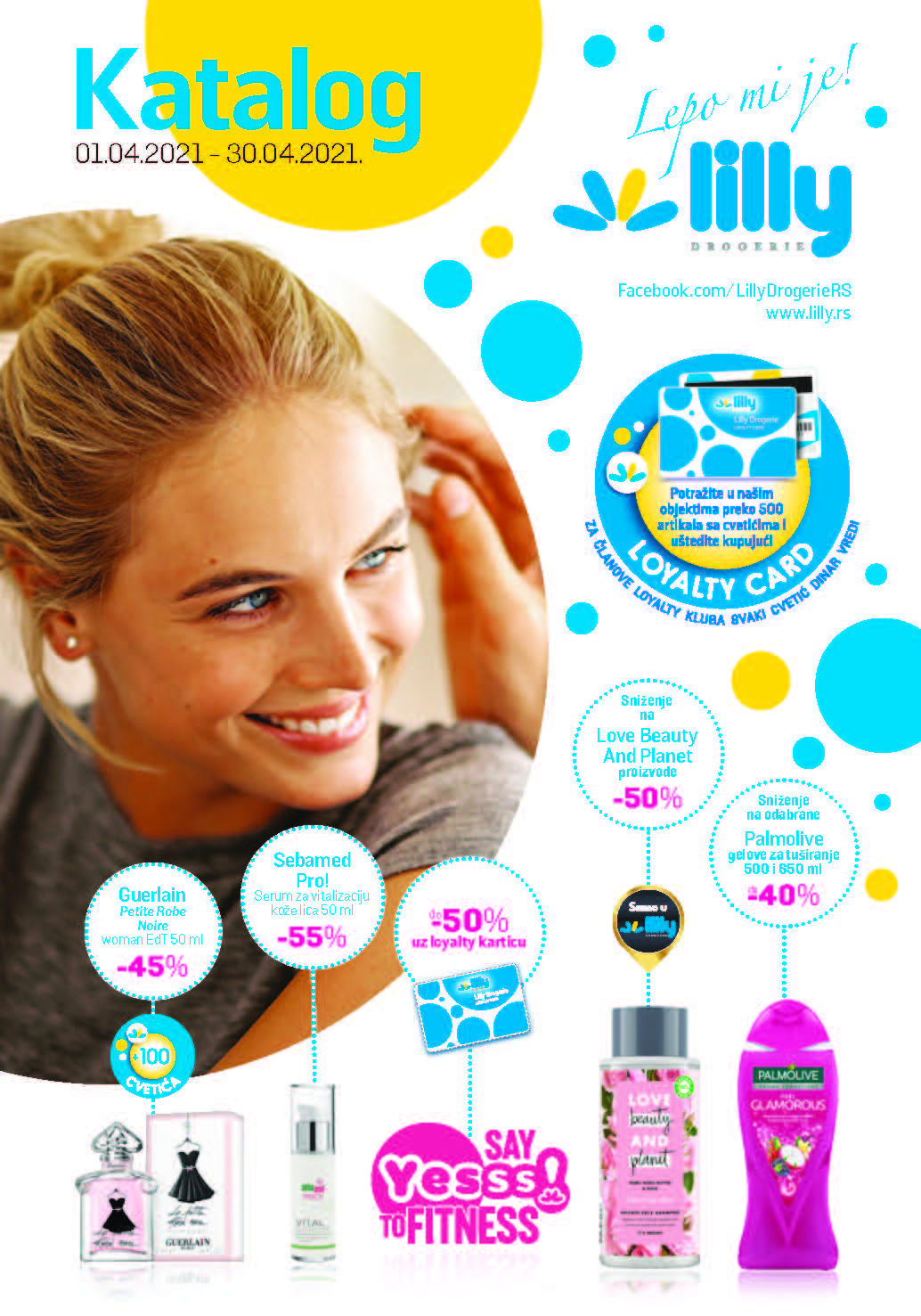 LILLY Katalog LILLY ONLINE Akcija APRIL 2021 01.04.2021. 30.04.2021. Page 01
