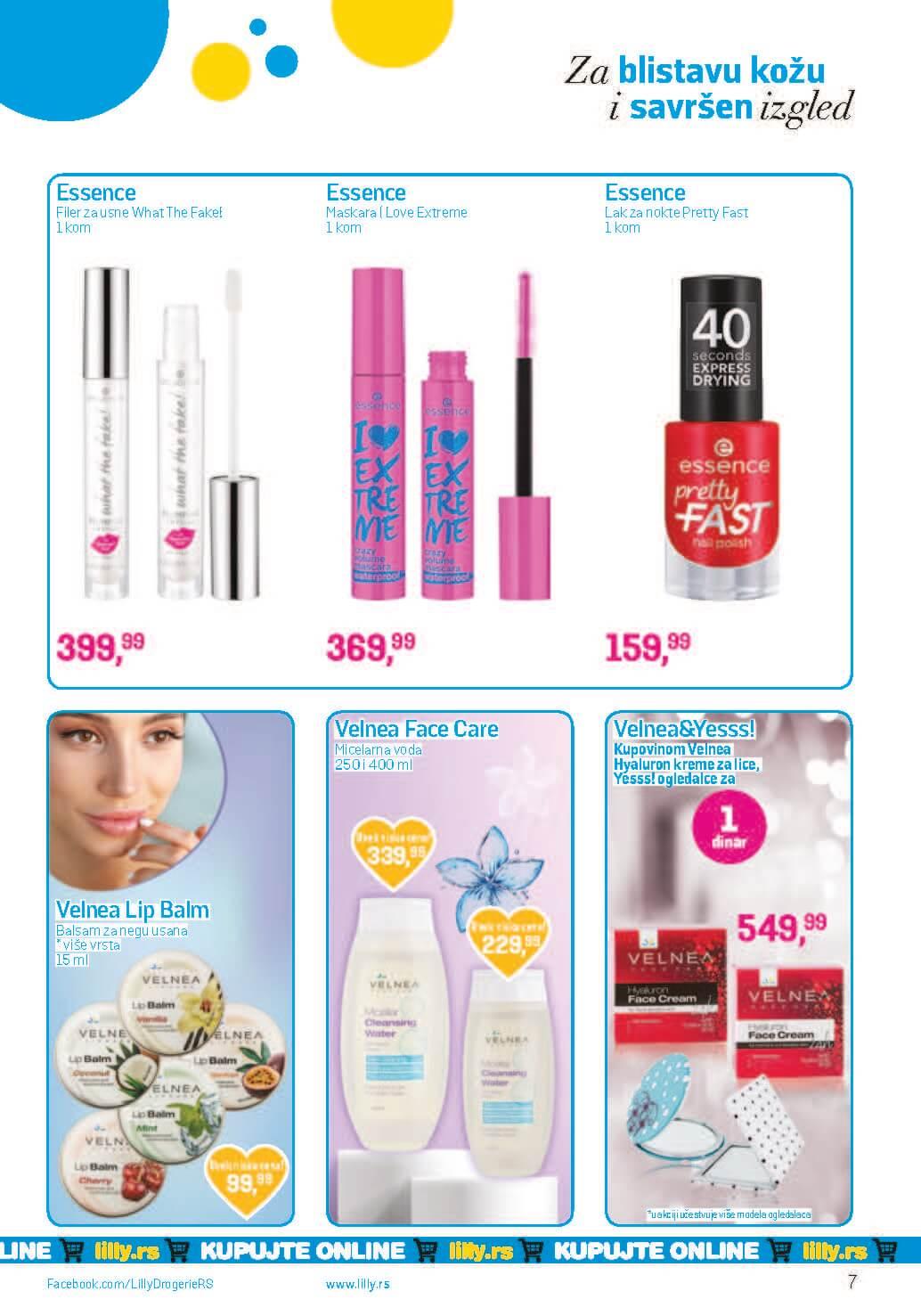 LILLY Katalog LILLY ONLINE Akcija APRIL 2021 01.04.2021. 30.04.2021. Page 07