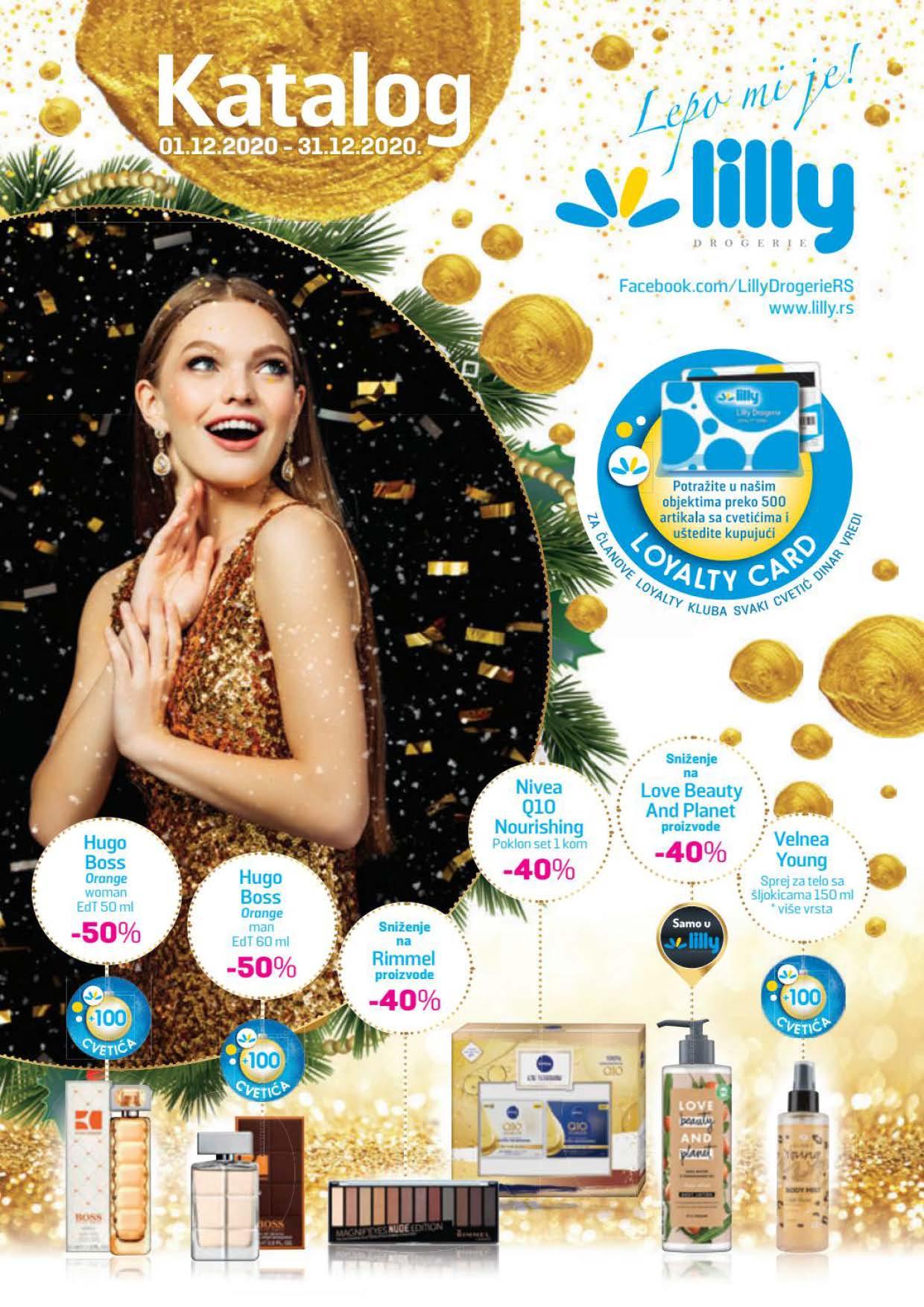 LILLY katalog LILLY ONLINE Akcija DECEMBAR 2020 01.12.2020. 31.12.2020. Page 01 1