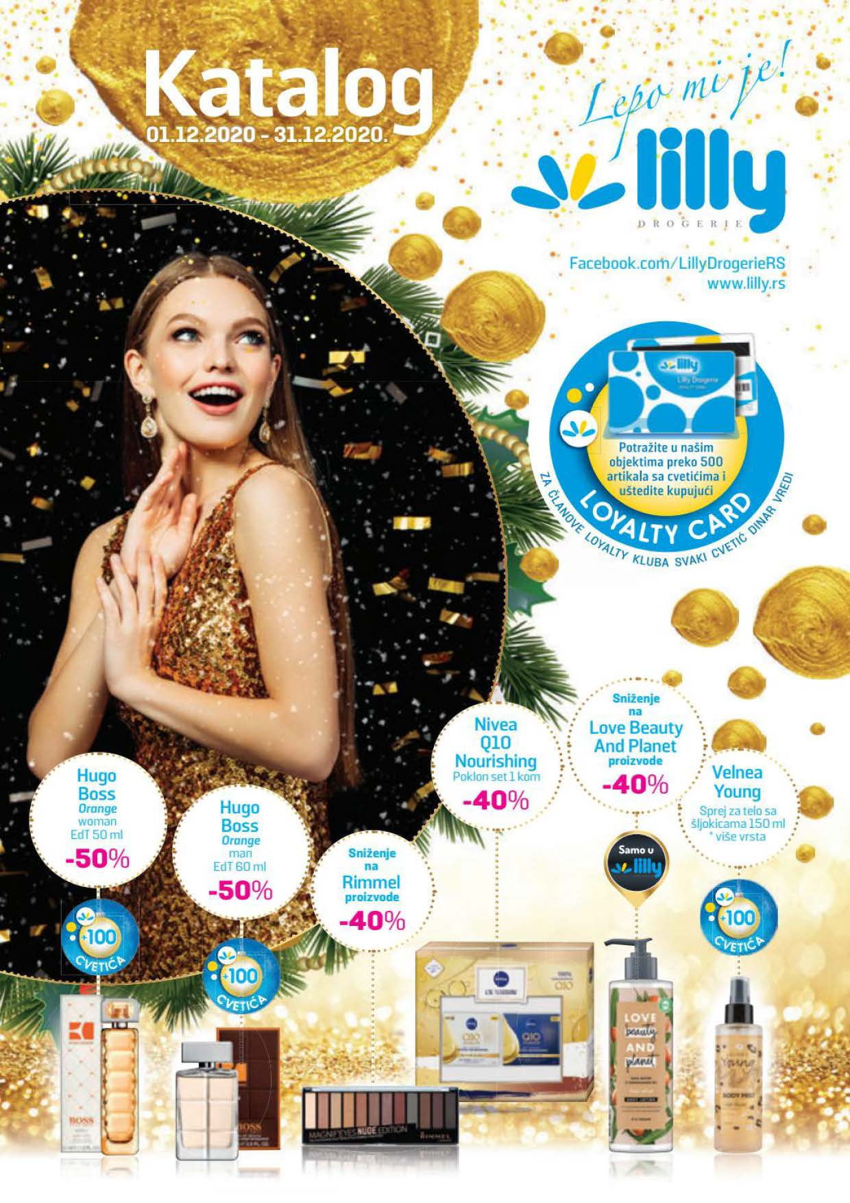 LILLY katalog LILLY ONLINE Akcija DECEMBAR 2020 01.12.2020. 31.12.2020. Page 01
