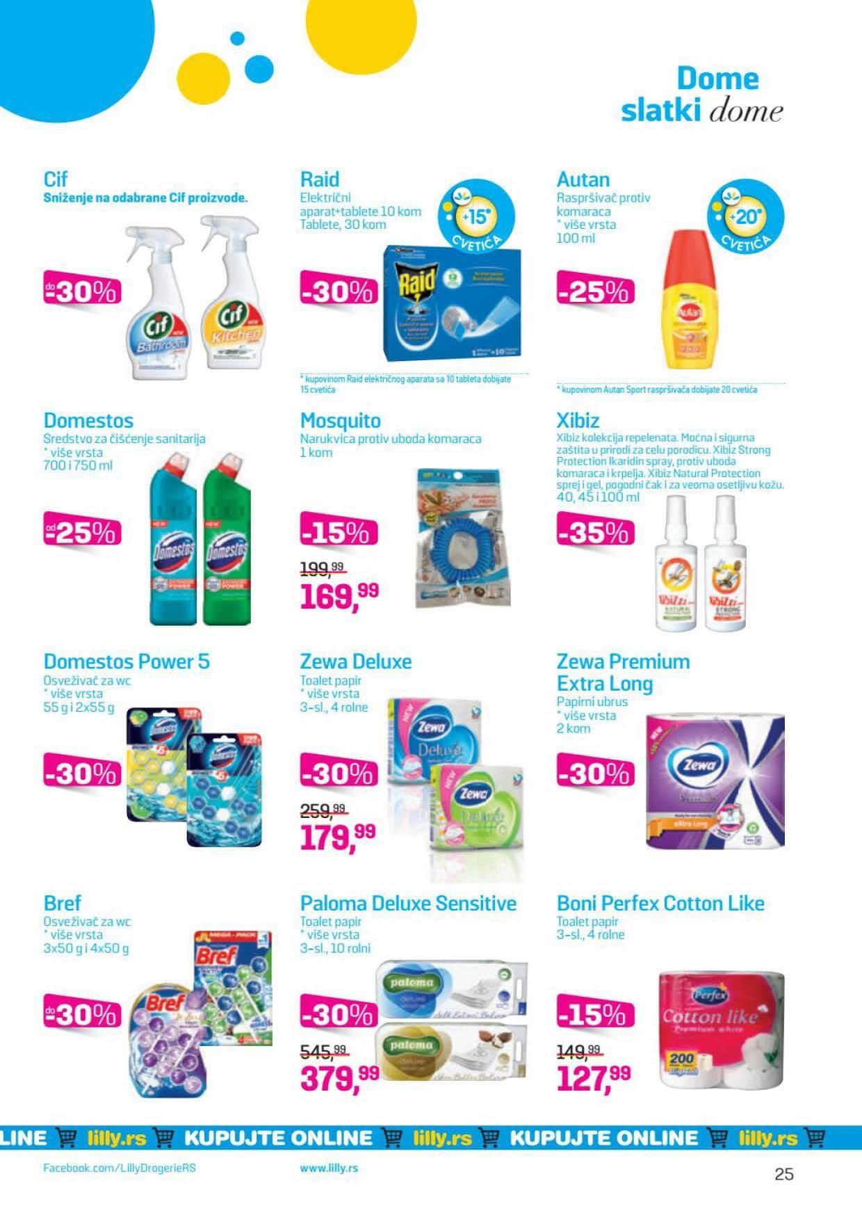 LILLY katalog LILLY ONLINE Akcija JUL 2020 01.07.2020. 31.07.2020. Page 25