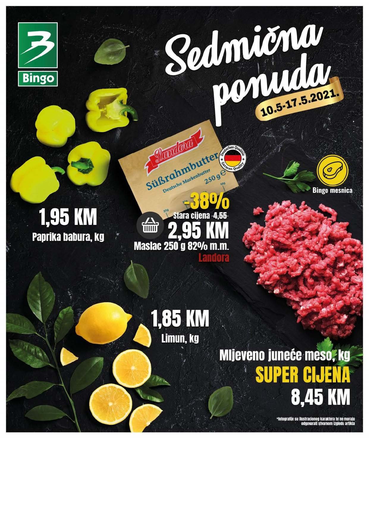 BINGO Katalog NOVA AKCIJA Sedmicna ponuda BINGO 10.05.2021. 17.05.2021. Page 01