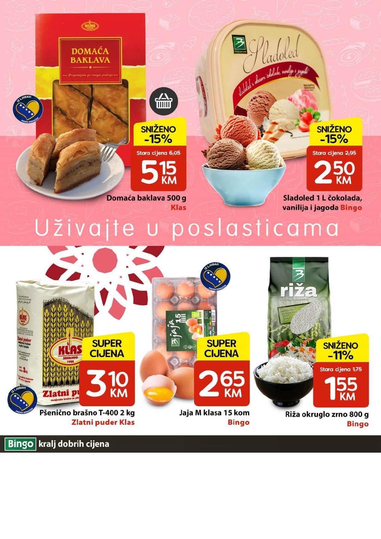 BINGO Katalog NOVA AKCIJA Sedmicna ponuda BINGO 10.05.2021. 17.05.2021. Page 04