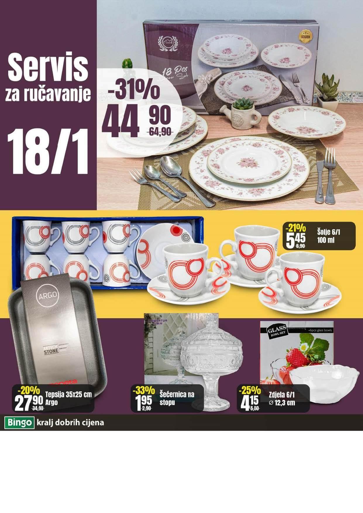 BINGO Katalog NOVA AKCIJA Sedmicna ponuda BINGO 10.05.2021. 17.05.2021. Page 10