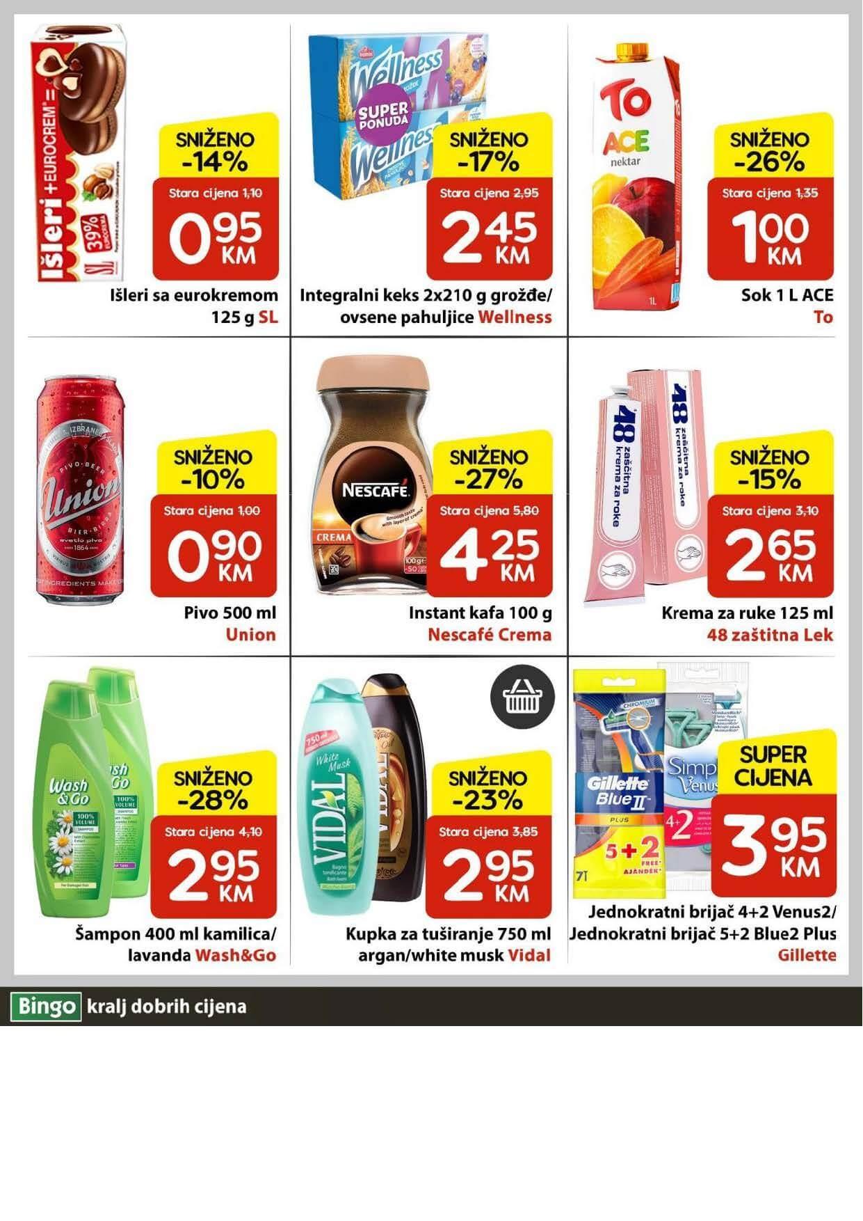 BINGO Katalog U Bingu vikend traje cetiri dana MAJ 2021 27.05.2021. 30.05.2021. Page 4
