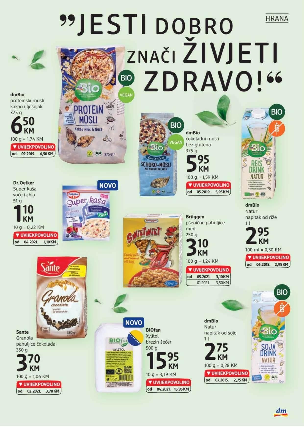 DM Katalog BiH Maj Jun 2021 26.05.2021. 08.06.2021. eKatalozi.com dm Page 19