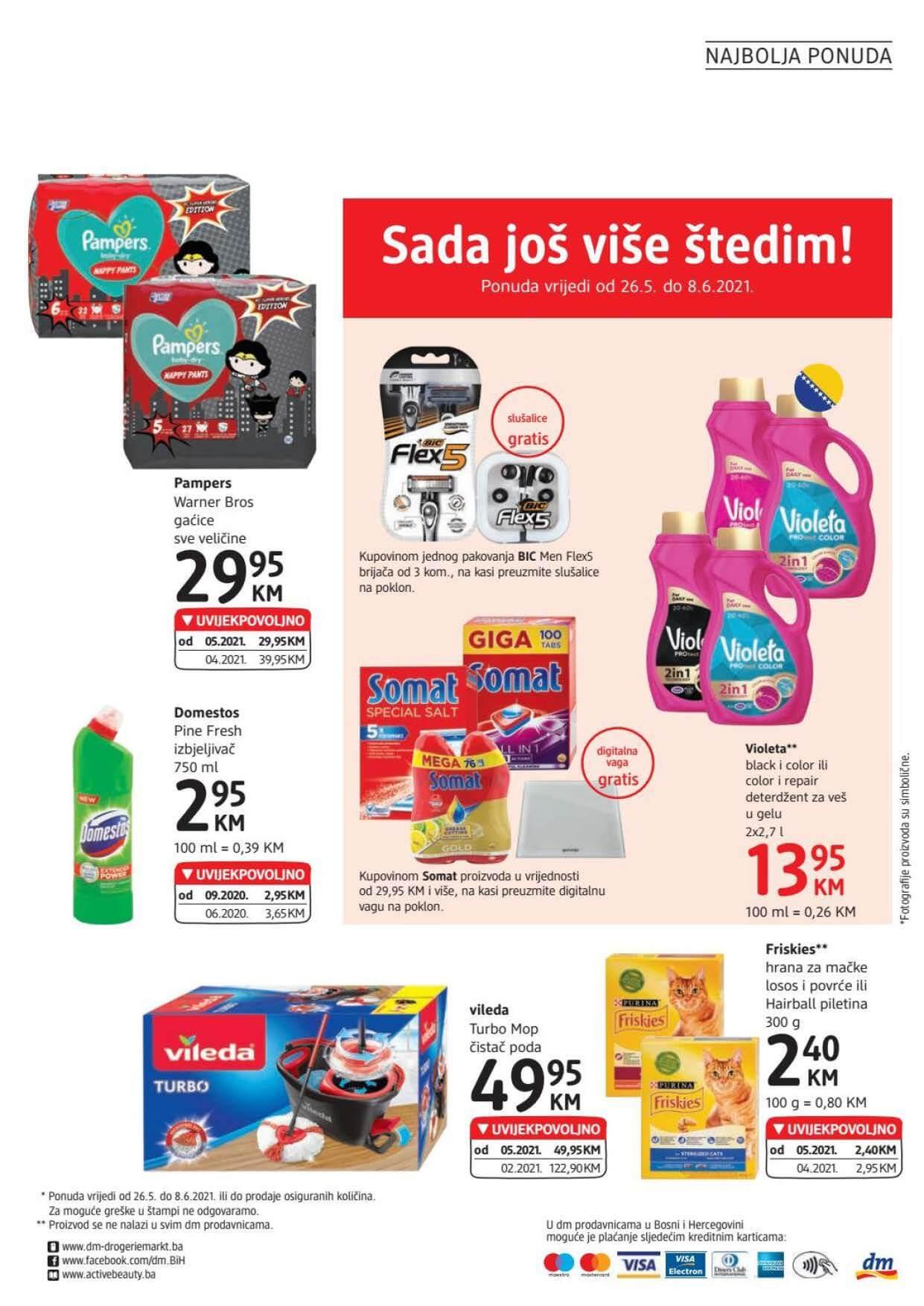 DM Katalog BiH Maj Jun 2021 26.05.2021. 08.06.2021. eKatalozi.com dm Page 24