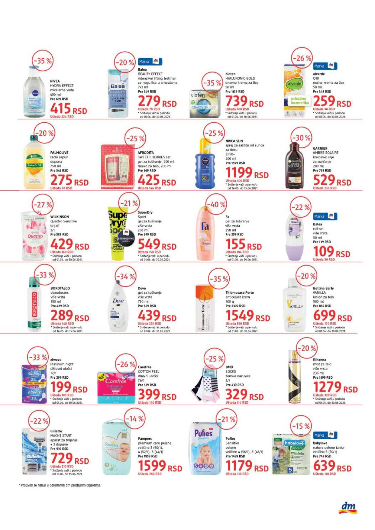 DM Katalog SRBIJA Super Cene JUN 2021 01.06.2021. 15.06.2021. eKatalozi.com PR Page 3