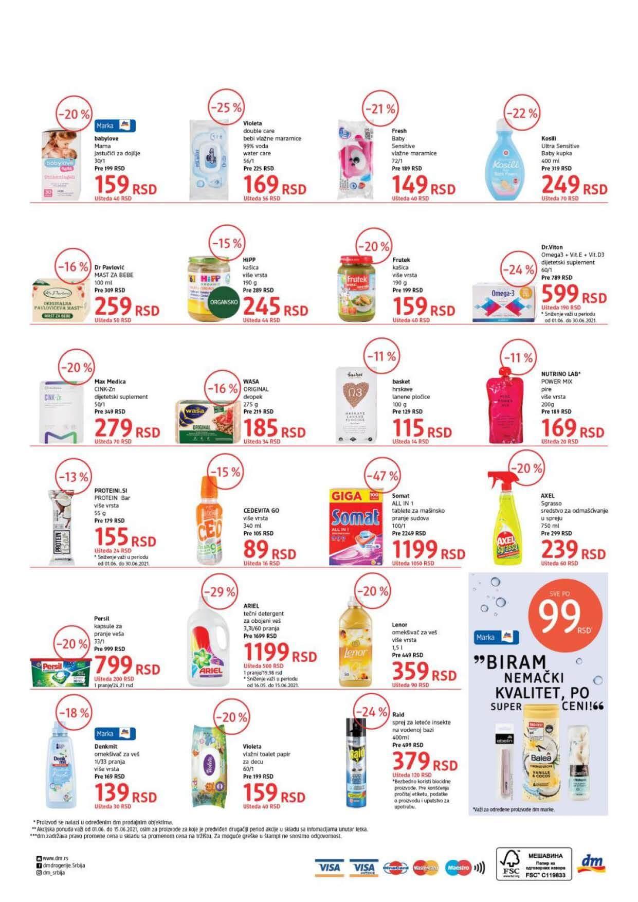 DM Katalog SRBIJA Super Cene JUN 2021 01.06.2021. 15.06.2021. eKatalozi.com PR Page 4