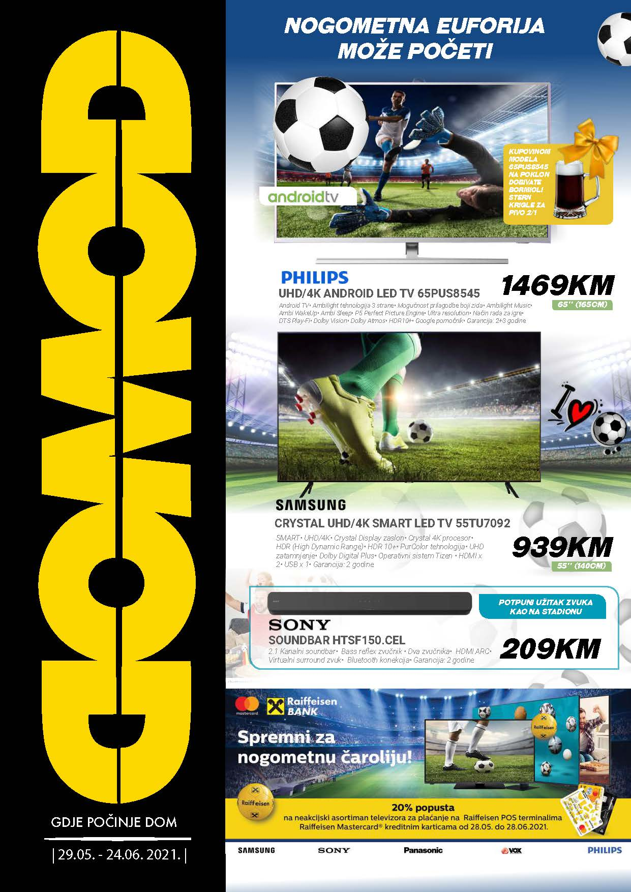 DOMOD Katalog Akcija JUN 2021 29.05.2021. 24.06.2021. eKatalozi.com PR Page 01 1