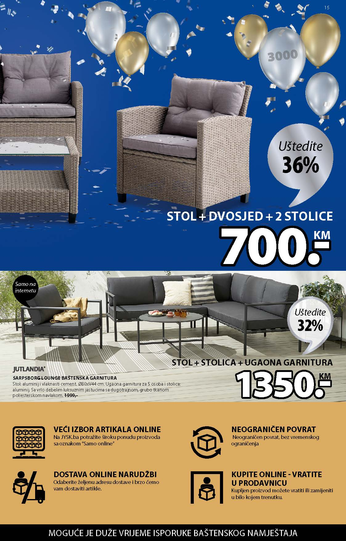 JYSK Katalog AKCIJA MAJ 2021 06.05.2021. 19.05.2021. Page 16