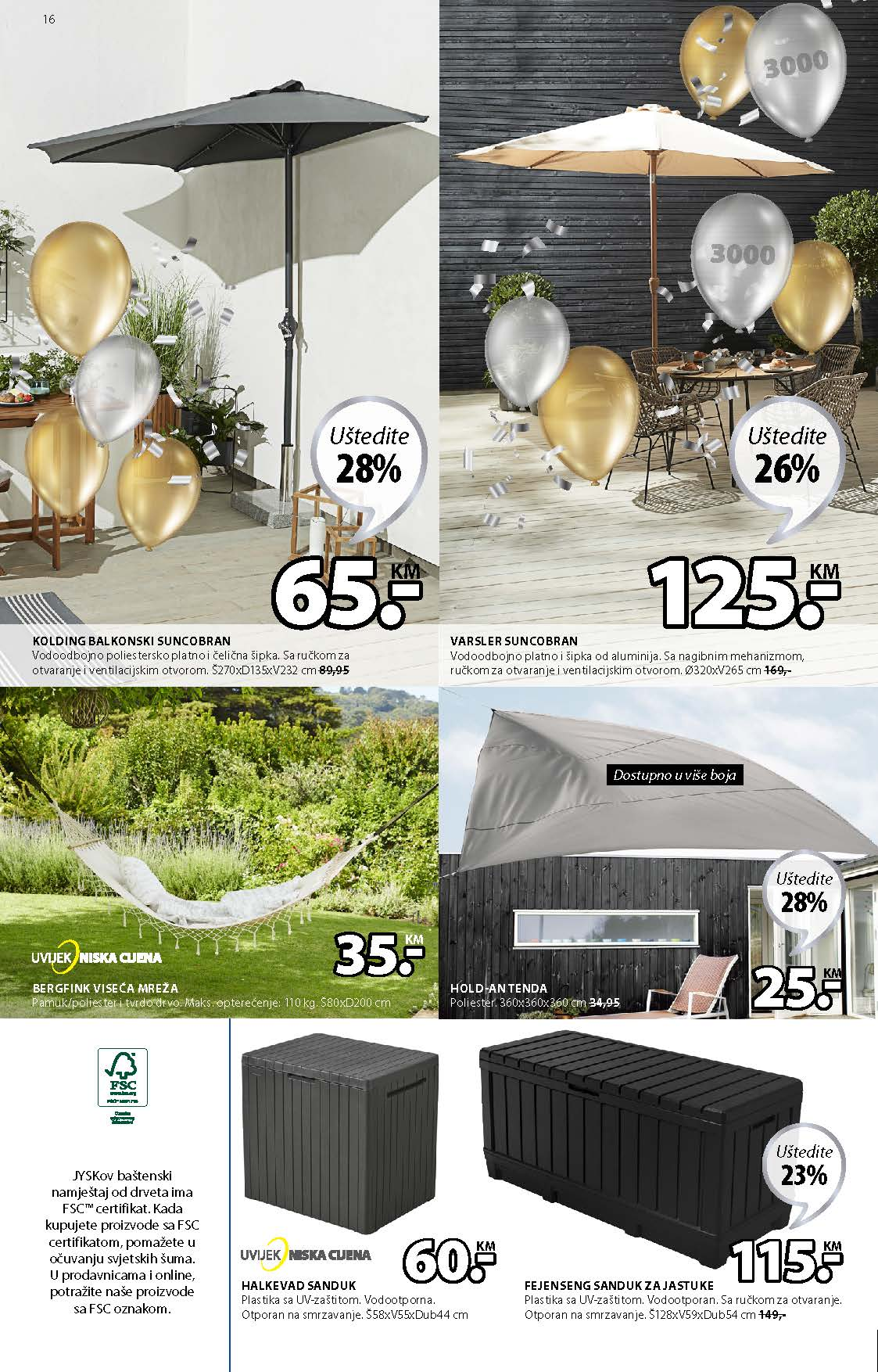 JYSK Katalog AKCIJA MAJ 2021 06.05.2021. 19.05.2021. Page 17