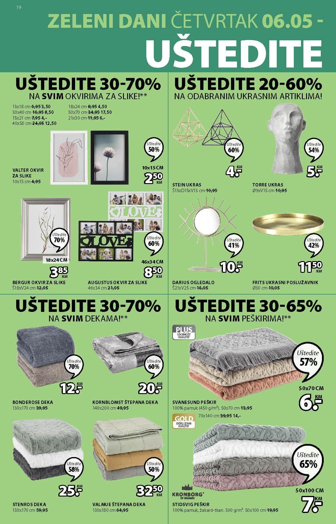 JYSK Katalog AKCIJA MAJ 2021 06.05.2021. 19.05.2021. Page 19