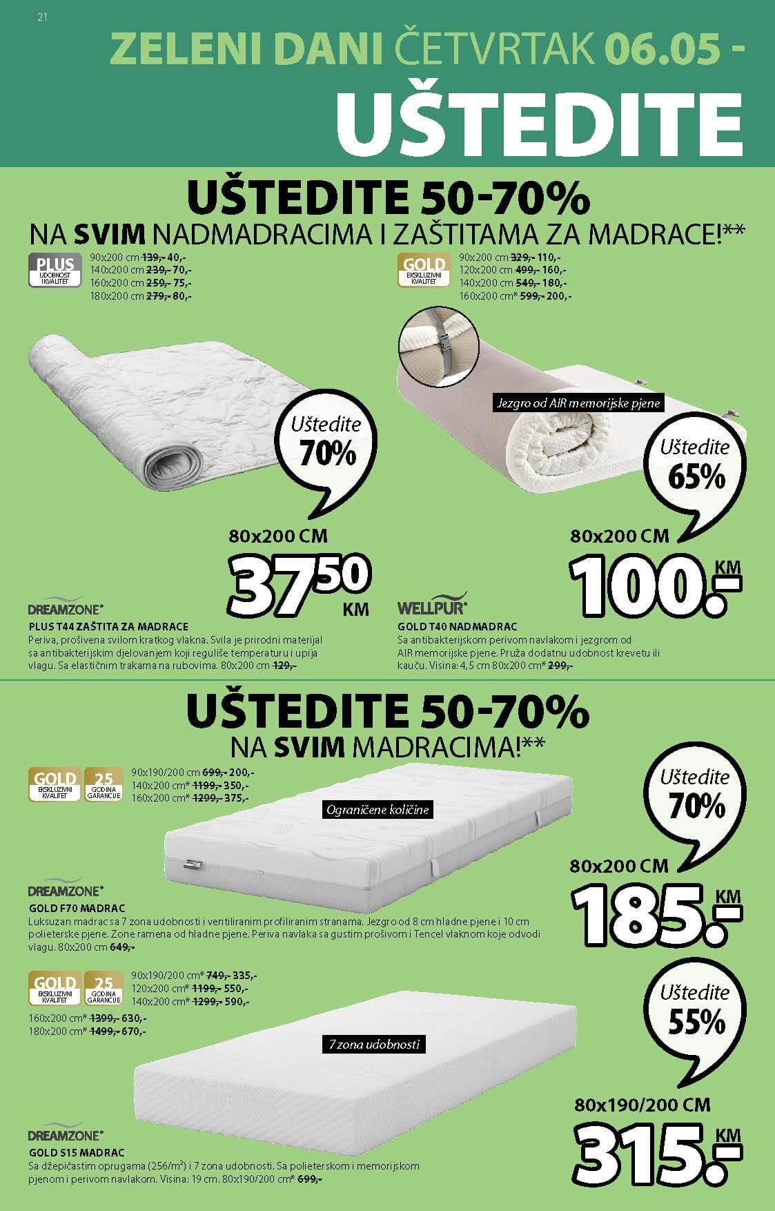 JYSK Katalog AKCIJA MAJ 2021 06.05.2021. 19.05.2021. Page 21