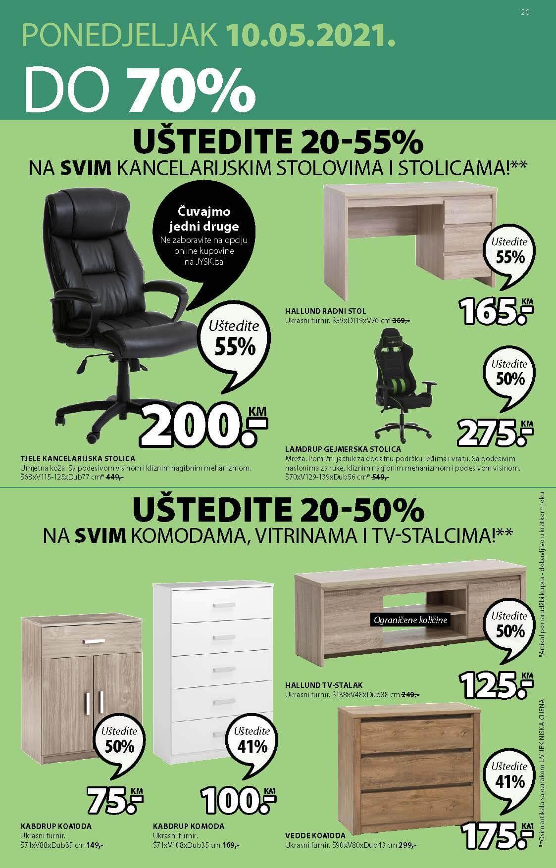 JYSK Katalog AKCIJA MAJ 2021 06.05.2021. 19.05.2021. Page 22