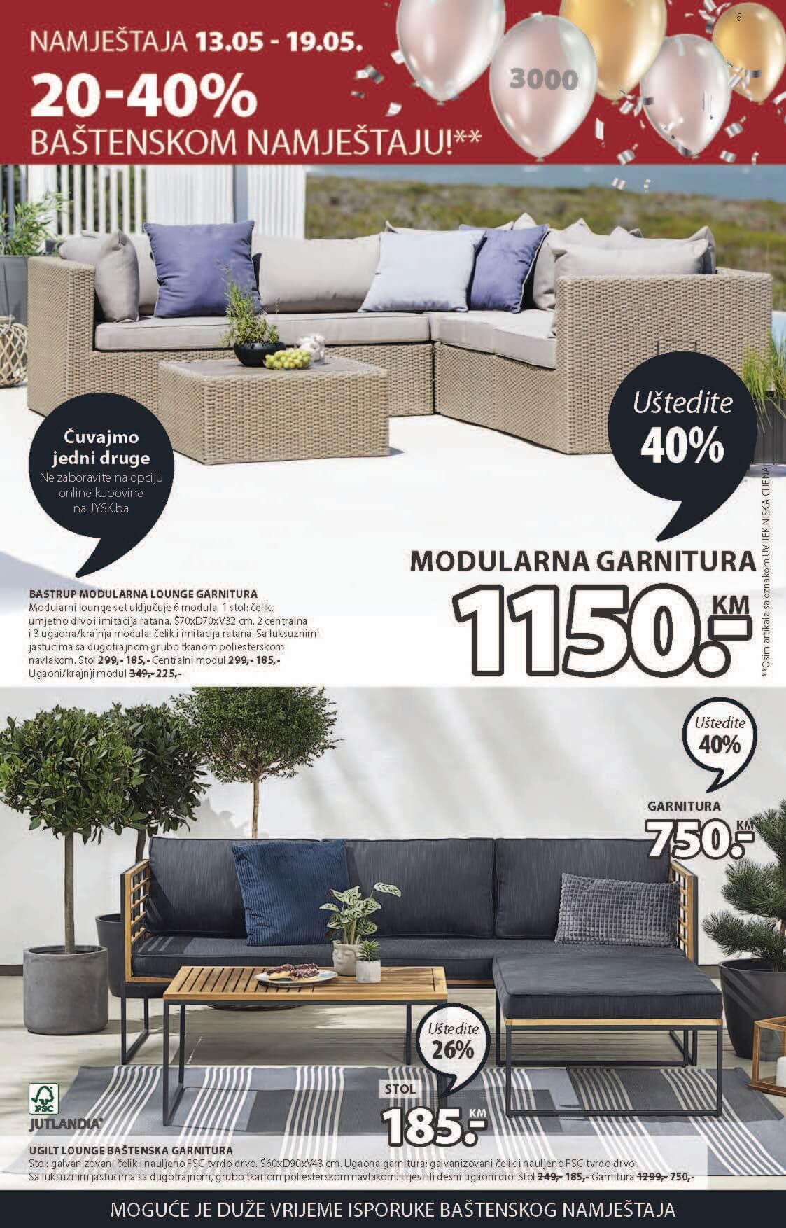 JYSK Katalog Akcijska ponuda MAJ 13.05.2021. 26.05.2021 ekatalozi.com Page 06 1