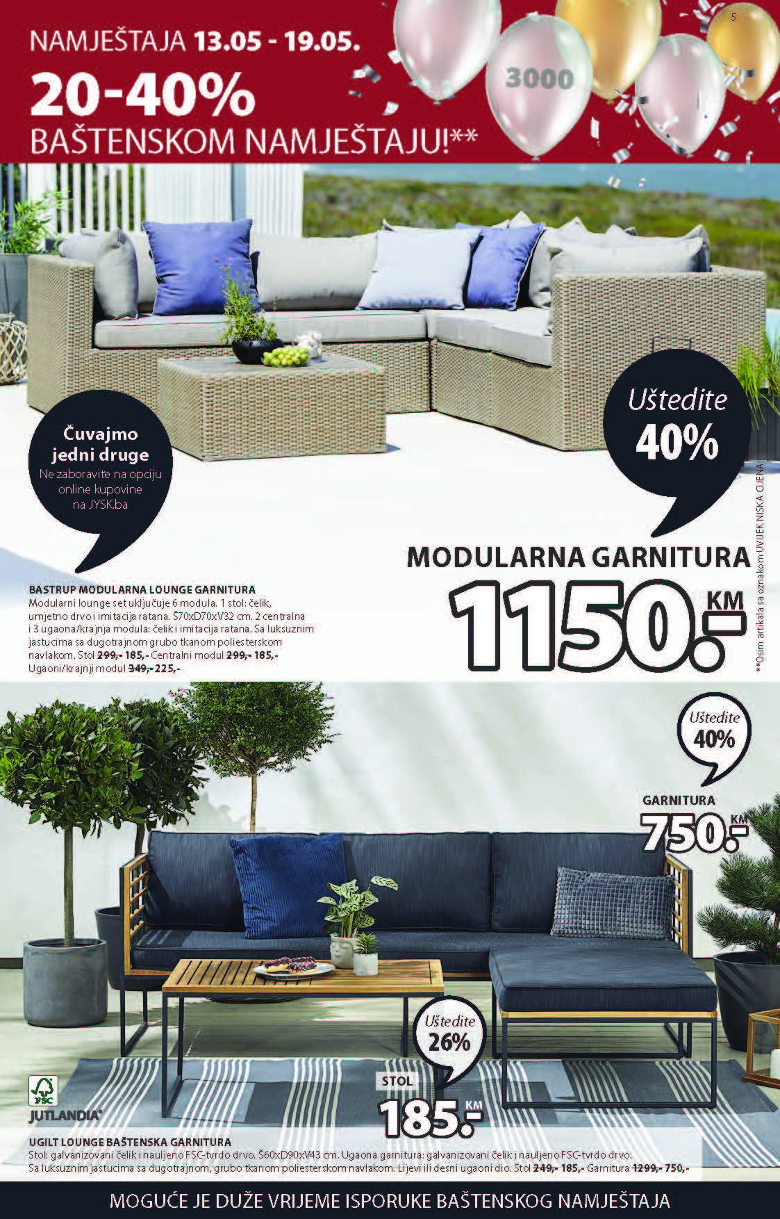 JYSK Katalog Akcijska ponuda MAJ 13.05.2021. 26.05.2021 ekatalozi.com Page 06