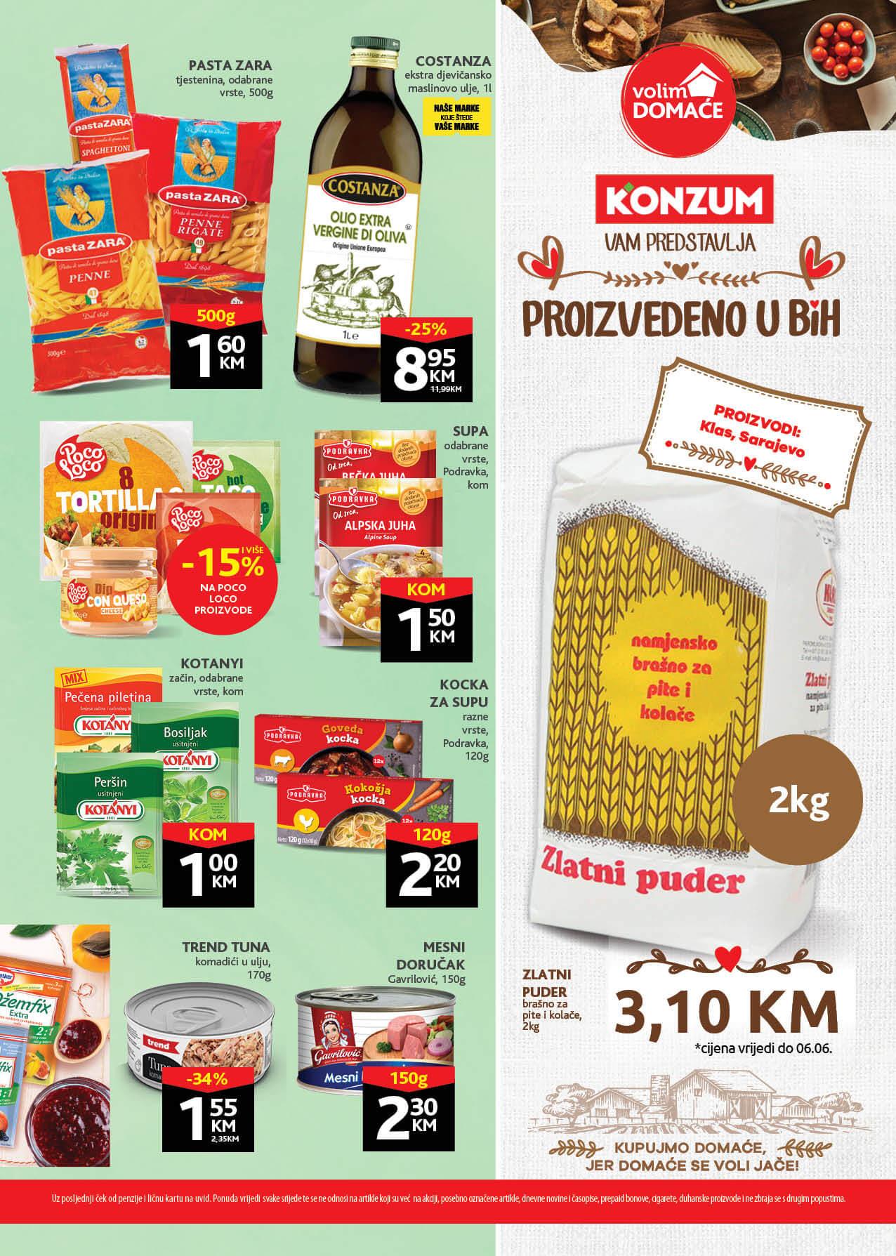 KONZUM Redovni katalog MAJ JUN 2021 24.05.2021. 03.06.2021. ekatalozi.com 1 Page 13