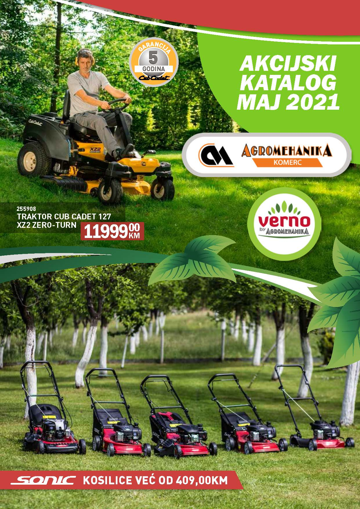 Maj 2021 Agromehanika Verno katalog 01.05.2021. 31.05.2021. Page 01